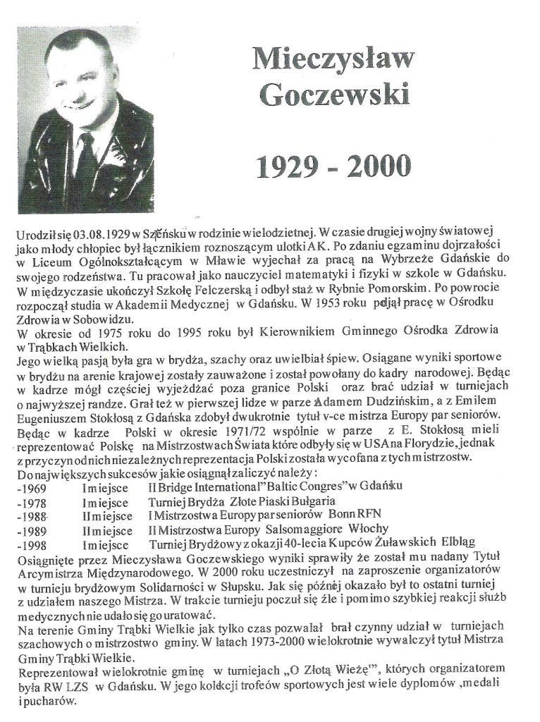 M. Goczewski